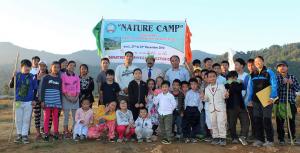 "Department of Physical Education, Rajiv Gandhi University under its Outreach Programme conducted a 3 days ""Nature Camp"" for the children of 5 years to 15 years of age in the outskirts of the university."