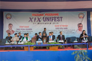 Hon'ble Vice-Chancellor Prof. Saket Kushwaha , DSW Prof. Kesang Degi, Faculty Members, Administrative Officers, Staffs and students attended the inaugural event.