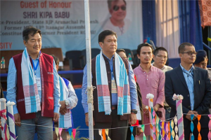 : Inaugural function of XIX University Festival graced by Shri Pema Khandu, Hon'ble Chief Minister of Arunachal Pradesh as the Chief Guest and Shri Kipa Babu, Vice-President, State BJP as the Guest of the Honour