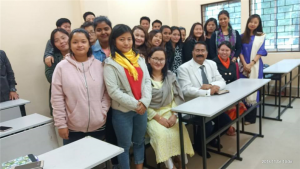 Honorable Vice Chancellor visited newly established Department of Psychology and interacted with students and faculty members.