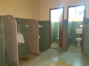 Bathroom at Chemistry Department