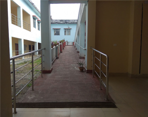 Rail Ramps at Chemistry Department