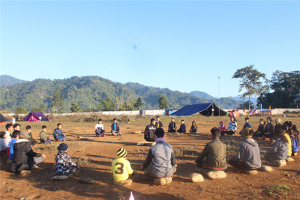 The camp was helpful for young children as they involved themselves and learned new things in absence of their parents, worked on creative activities, learned about the nature and environment.