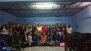 The talk was attended by Dr Kesang Degi, DSW, Dr Tage Rupa, Dr Punyo Yarang, Ms Doyir Ete and boarders of various Halls of Residence.