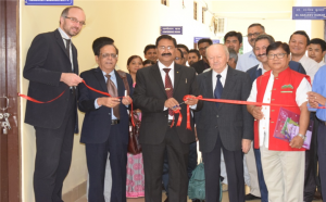 "Inaugural Ceremony of the Center for Advance Research ""The workshop started with the inaugural ceremony attended by dignitaries from the University namely, Prof. Saket Kushwaha (VC), Prof. Tomo Riba (Registrar), Dean of faculties, Head of Departments, faculties from NERIST."""