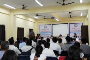 Thirty faculty members and research scholars from UP, Assam and Arunachal Pradesh participated in the course.