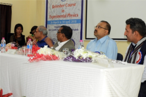 Prof.C S Sunder was the Course Director and Prof Sanjeev Kumar, Department of Physics, Rajiv Gandhi University was the course coordinator. Special lectures were delivered by Prof Ashok Kumar (Tezpur University), Prof.AnurupGohainBarua (Gauhati University).