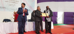 Award for Best Employees for the year 2019-20 to Kurian Thomas