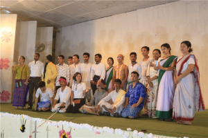 "The department of English has performed the play entitled ""Mission Swachhata-A Gandhian Play"" to commemorate 150th birth aniversary of Mahatma Gandhi"