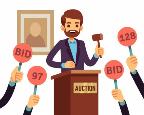 auction-with-man-holding-gavel-people-raised-hands-with-bid-paddles-vector-concept-auction-business-bid-sale-trade-commercial-illustration_53562-6247