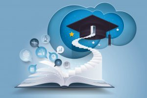 open-book-with-stair-graduation-cap_72787-76
